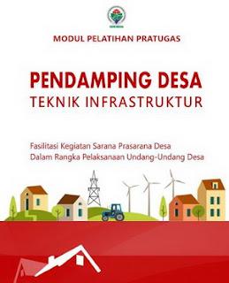 Modul Pelatihan Pratugas Pendamping Desa Tehnik Infrastruktur