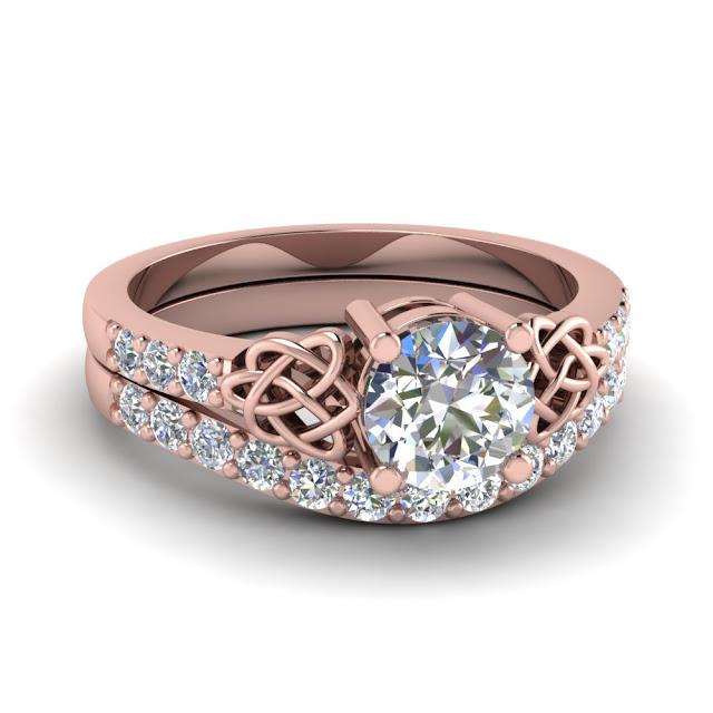Wedding Ring Sets Rose Gold