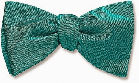 Cummings bow tie from Beau Ties Ltd.