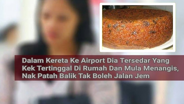 Pembantu Rumah Buat Kek Nak Bawa Balik Ke Indonesia, Bila Kami Belah Kek Itu Rupa-Rupanya..