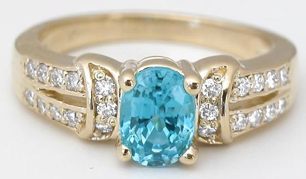 Spectacular zircon ring. In its series on jewellery birthstones, Is This Mutton? looks at an alternative birthstone for December, zircon - not to be confused with cubic zirconia.