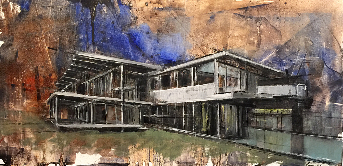 Bill guffey bucerius house switzerland 1966 neutra for K architecture geneve
