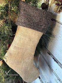 rustic stockings