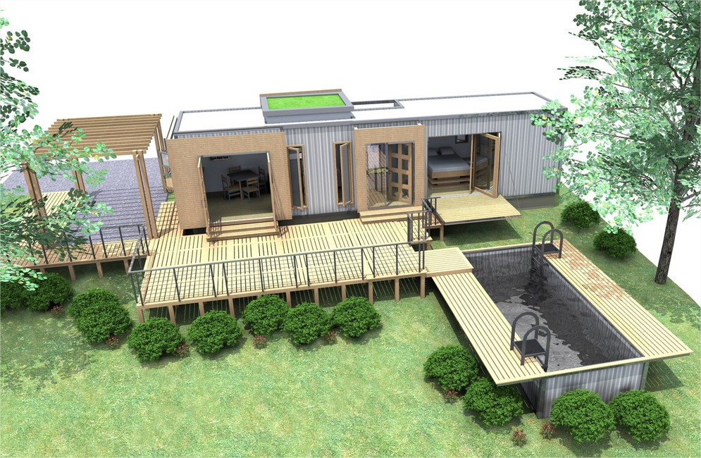 40 foot container home plans container home - Ft container home ...