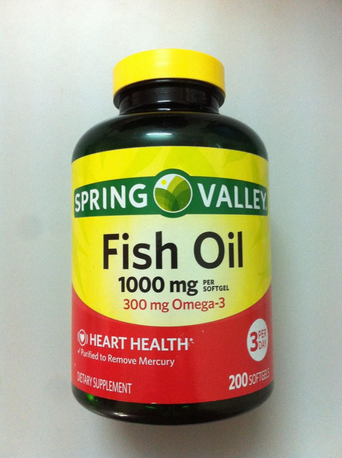 D U C H I Fish Oil Omega 3 N T Spring Valley M