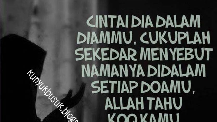 Kata Kata Putus Cinta Islami