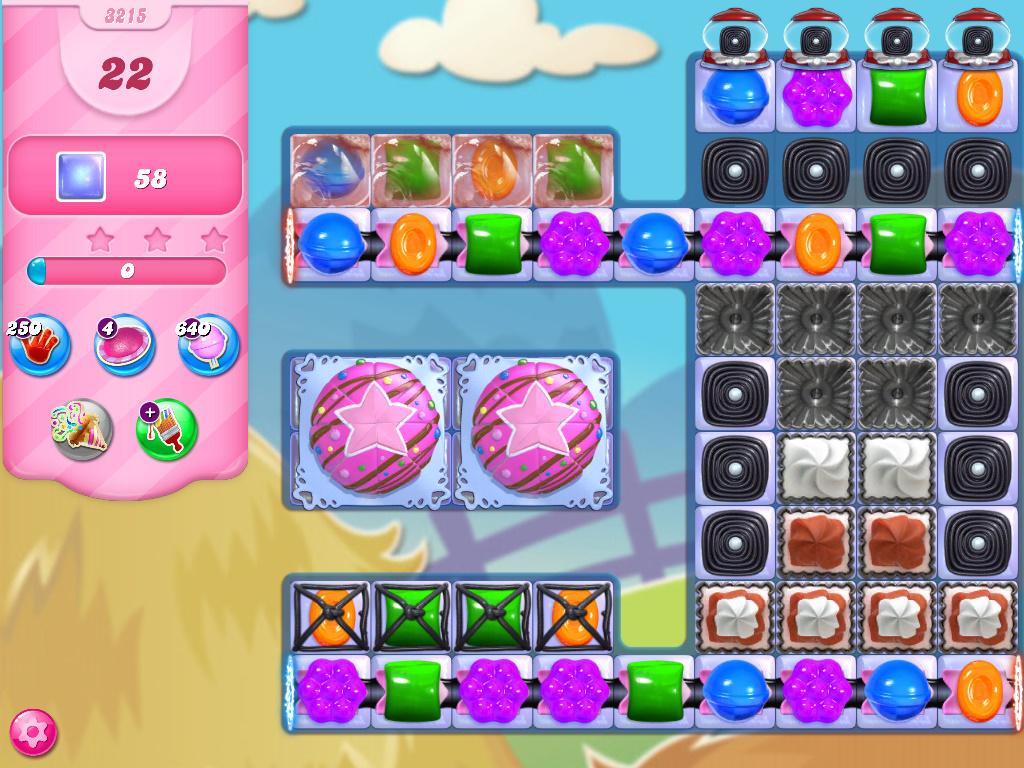 Candy Crush Saga level 3215