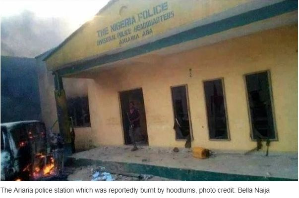 Suspected IPOB members attack police station in Abia state
