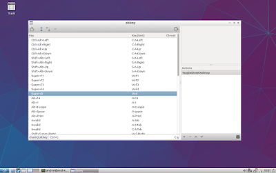 Obkey keyboard shortcuts Lubuntu (Openbox)