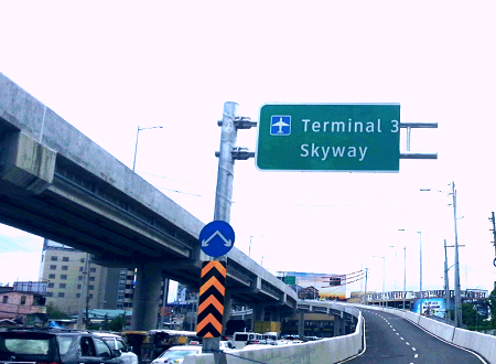 NAIA Airport Skyway to Terminal 3