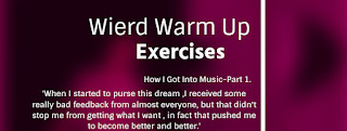 Weird but Effective Warm Up Vocal Exercises For An Amazing Voice part1