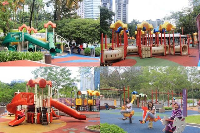 taman klcc sebagai tempat wisata anak di malaysia