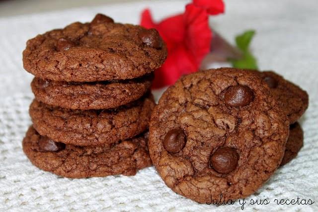 Galletas de chocolate. Julia y sus recetas