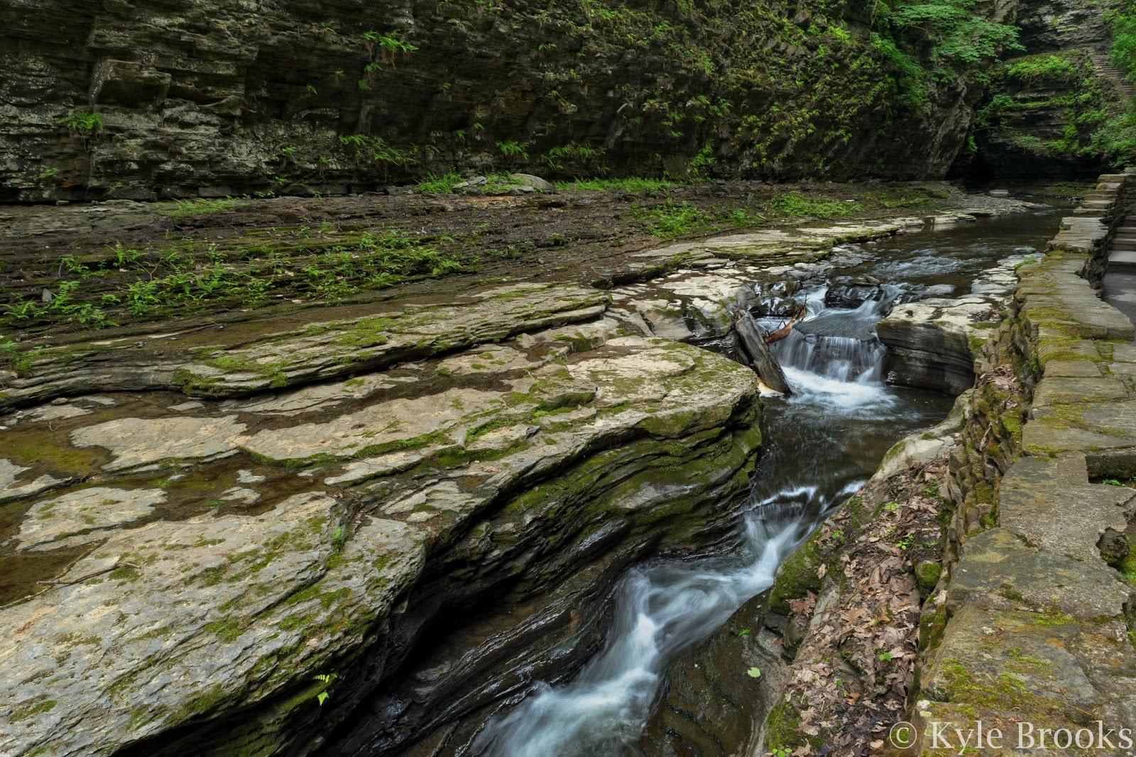 Watkins Glen State Park Geology