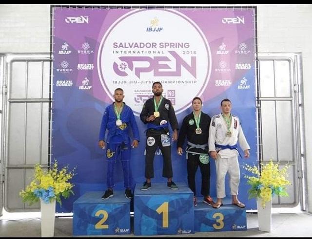 Picoenses conquistam medalhas em campeonato internacional de Jiu-Jitsu
