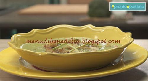 Pronto e postato - Crema di broccoli thai ricetta Benedetta Parodi