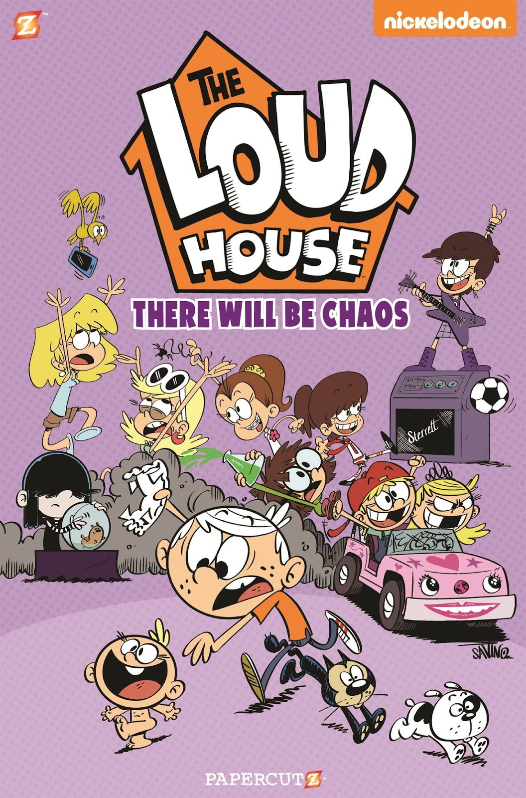 Nickalive new the loud house books and dvd announced House beautiful book 2017