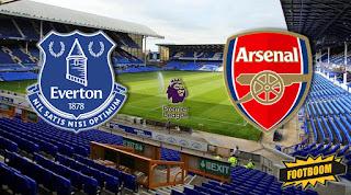 Everton vs Arsenal Live online stream today 22-10-2017 England - Premier League