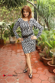Actress Saloni Latest Pos in Short Dress  0286.JPG
