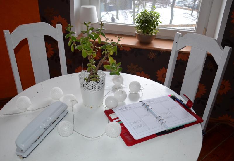 planer, organizacja czasu, DIY, empik, dziurkacz jak zrobić planer