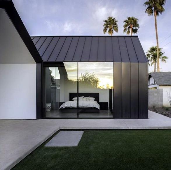 rumah minimalis  industrial modern