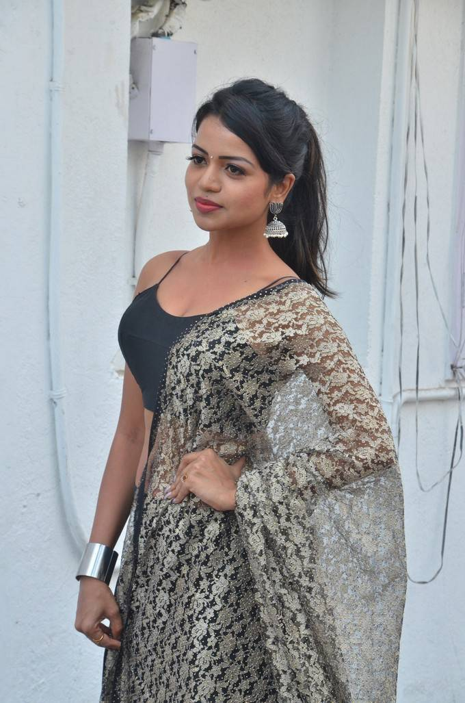 Bhavya Sri At Valayal Movie Audio Launch Stills