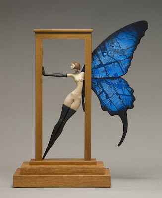 Green Pear Diaries, arte, escultura, John Morris, Threshold, Umbral