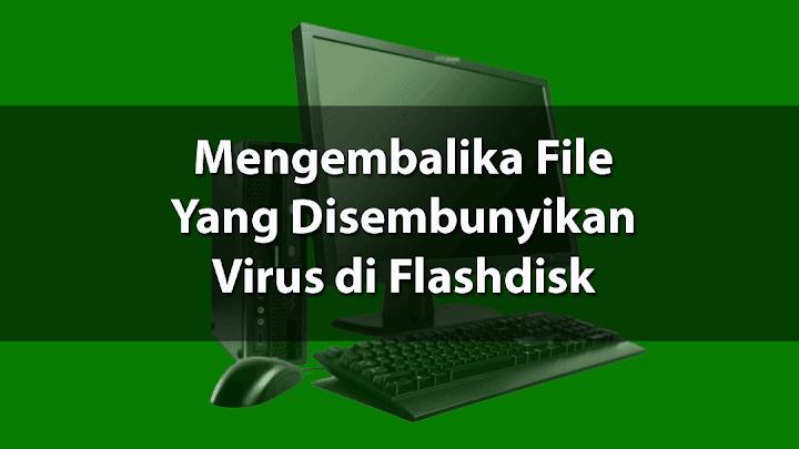 Memunculkan File / Folder Flashdisk Yang Disembunyikan Virus