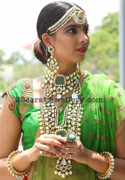 Kushboo Maheswari Kundan Bridal Jewellery