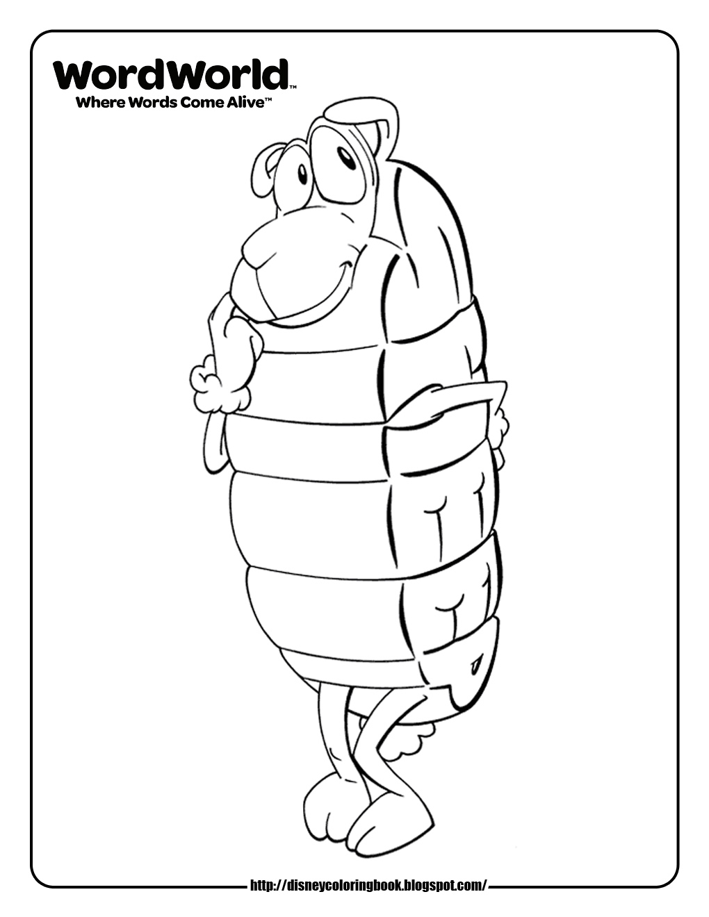 The Word Chef Coloring Pages