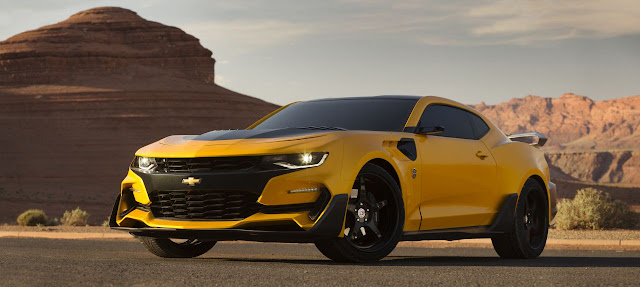 Revelado el nuevo Bumblebee de 'Transformers: The Last Knight'... un Chevrolet Camaro 2016