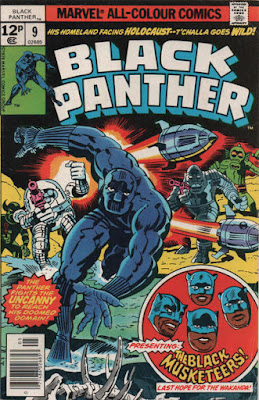 Black Panther #9, the Black Musketeers