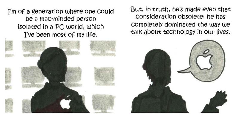 Steve Jobs by Justin Colussy-Estes