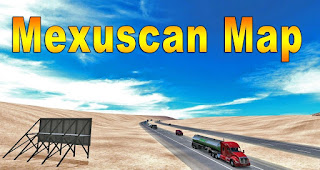 American Truck Simulator MEXUSCAN MAP V1.6 for ATS MOD Download MODs