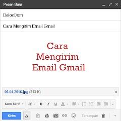 Cara Menulis dan Mengirim Email di Gmail