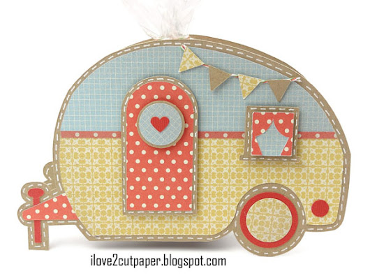 Teardrop Trailer Treat Box - Caravan