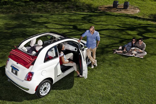 Fiat 500c Cabrio and Friends
