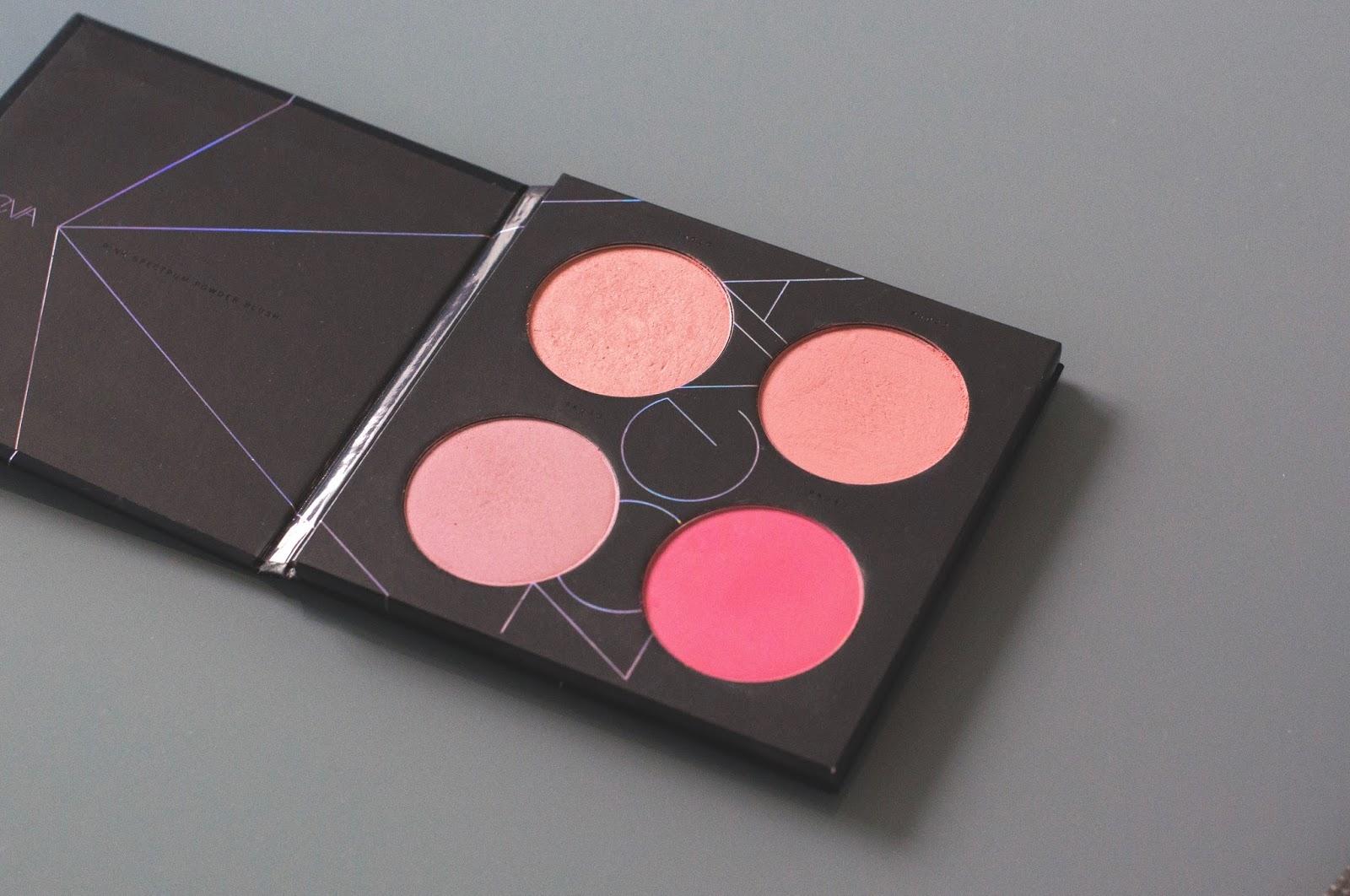 Palette de Blush Pink Spectrum de Zoeva
