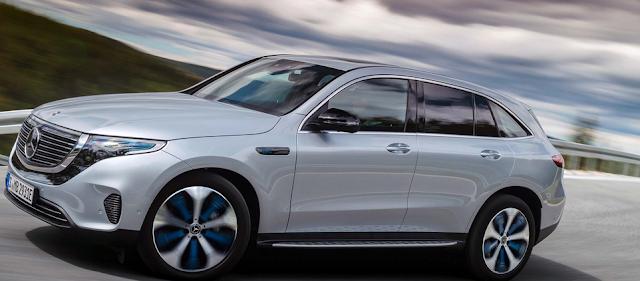 مرسيدس تكشف عن EQC الكهربائية وتدخل عالم السيارات الكهربائية