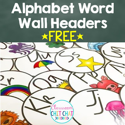 https://www.teacherspayteachers.com/Product/Alphabet-Word-Wall-Headers-3557513