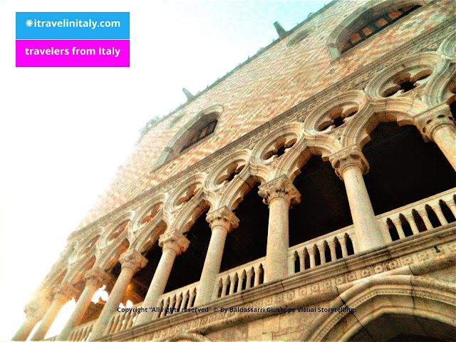 "Palazzo Ducale in Venezia Copyright ""All rights reserved"" © By itravelinitaly.com Baldassarri Giuseppe Visual Storytelling."