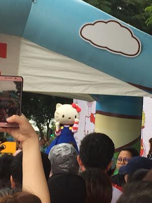 Hello Kitty Mascot  - Sweet Bunny