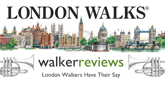 "#London Walkers Review London Walks: ""Kudos to all the guides and to the entire gang at London Walks"""