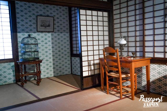 Décoration fusion entre Japon et Pays-Bas, Dejima, Nagasaki, Kyushu