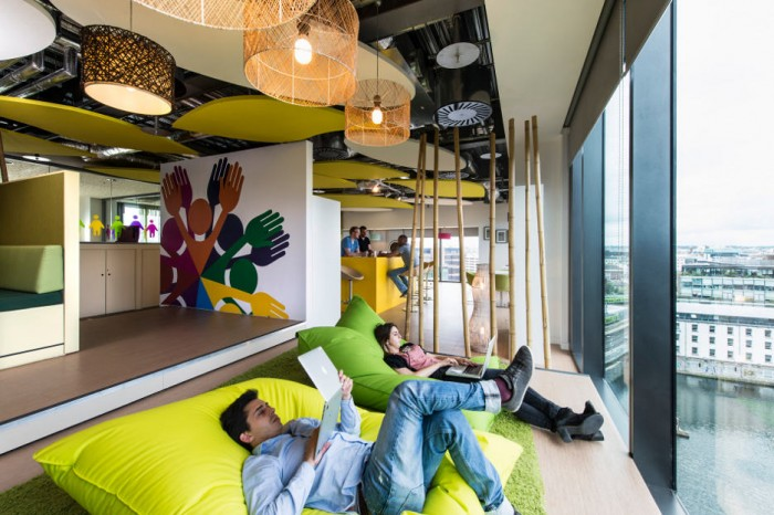 According To Recent Interior Design Practices The Days Of Worker Bees Hovering Around An Onslaught Honeycomb Like Cubicles Are Long Gone
