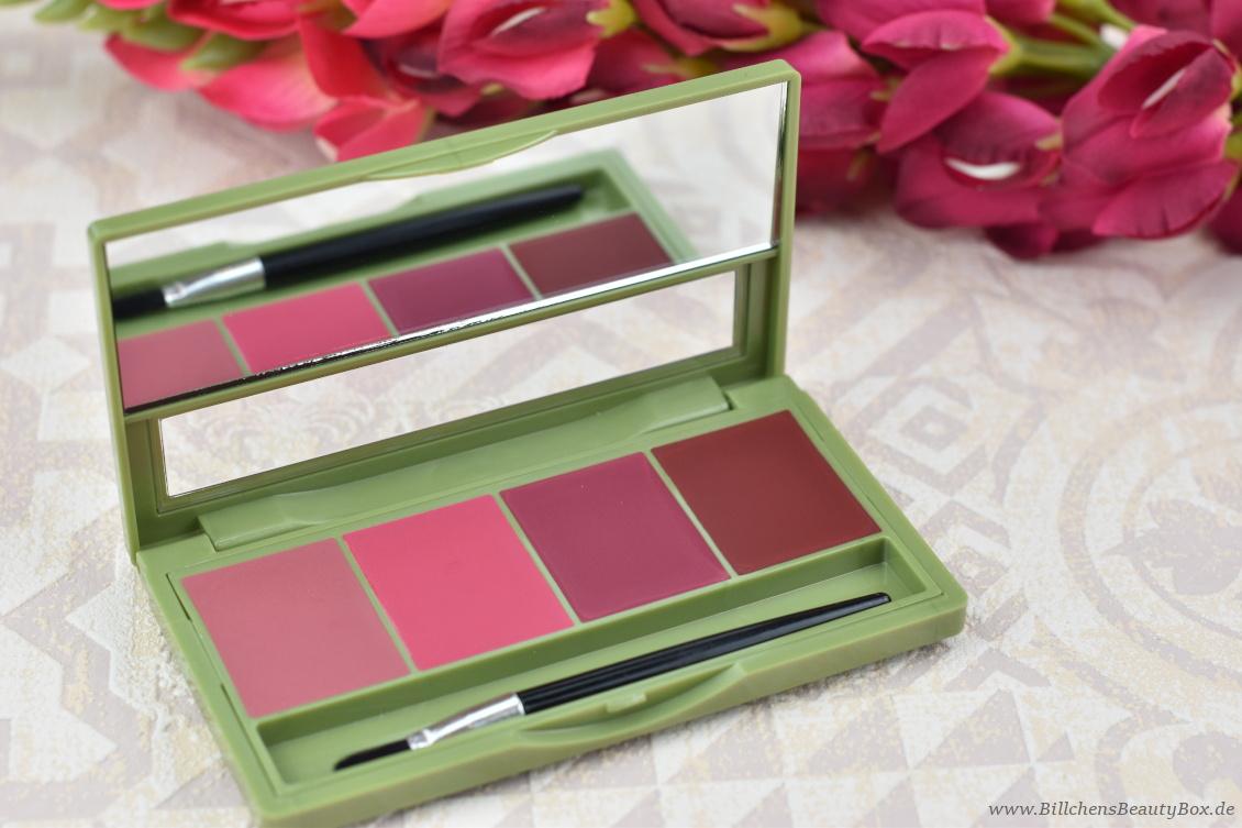 alverde Naturkosmetik - Make-Up Review Favoriten 2018 Matt & Shiny Lipstick Kit