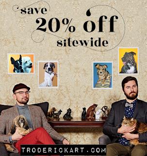 troderickart coupon code promo boom20
