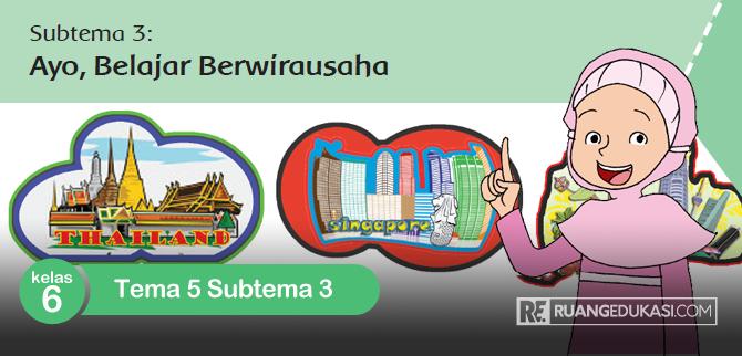 Kunci Jawaban Buku Tematik Tema 5 Kelas 6 Subtema 3