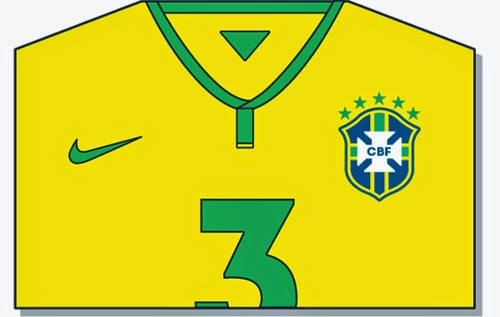 World Cup Brazil 2014 – T-Shirt Design
