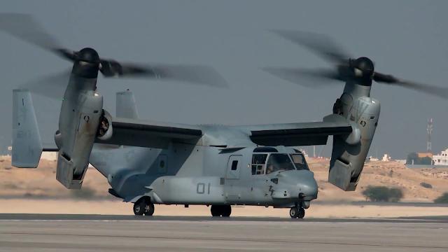 La Marina estadounidense pone en marcha su primer Escuadrón de CMV-22B 'Osprey'